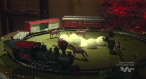Haven S2x13 - Troubled train set