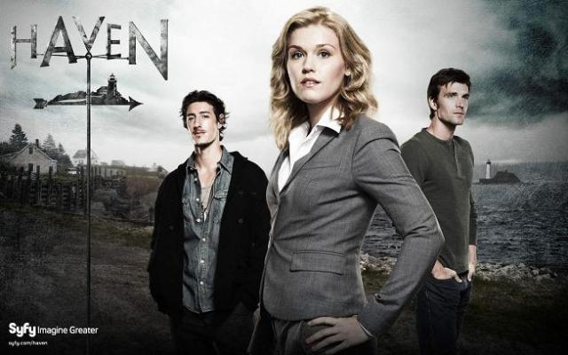 Haven main cast banner - Click to learn more at Syfy!