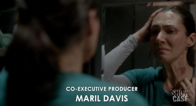 Helix S1x06 Julia looks in mirror
