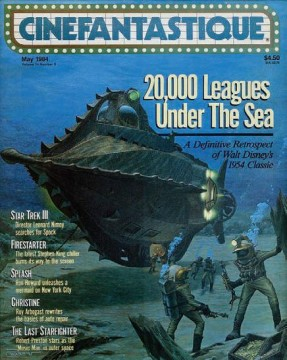 Profiles In History The Dreier Collection - 20,000 Leagues Under The Sea Cinefantastique magazine