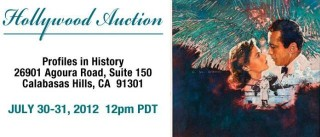 Profiles In History Hollywood Auction banner