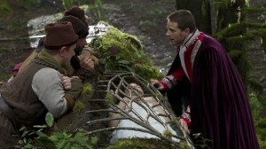 Once Upon A Time S1x01 - The seven dwarfs, Charming view Snow White