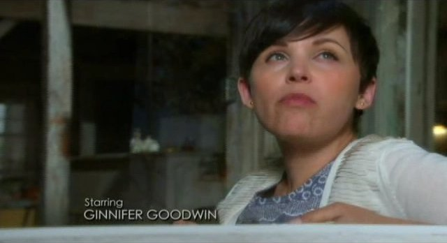 Once Upon A Time S1x02 - Mary Margaret looks out st StoryBrooke
