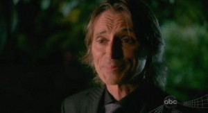 Once Upon A Time S1x02 - Why does Mr Gold walk with a cane?