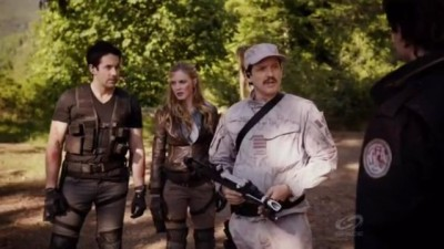Primeval New World S1x13 - Colonel Hall tells them they will come along for a debrief