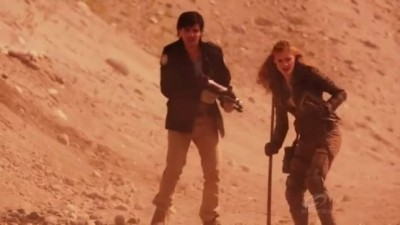 Primeval New World S1x13 - Connor finds Dylan as they identify the scorpion traps