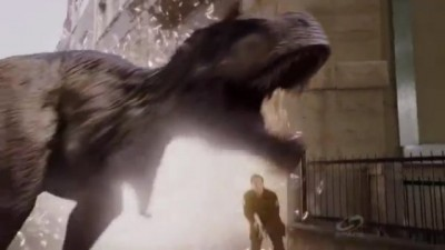 Primeval New World S1x13 - T-Rex goes wild