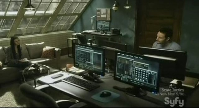 Sanctuary S4x03 - In the lab
