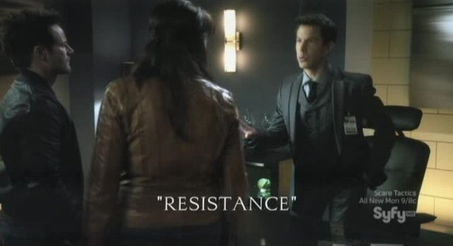 Sanctuary S4x05 - Resistance title slide