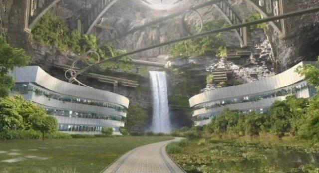 Escena 03 - base secreta de los  Beregide  Sanctuary-S4x13-The-new-Sanctuary