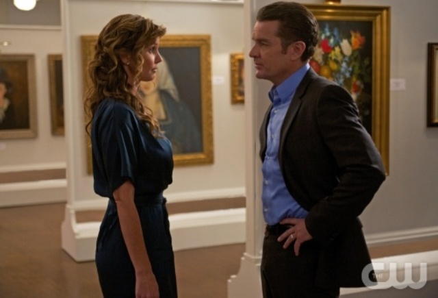 Supernatural S7x05 - Charisma Carpenter as Maggie and James Marsters as Don