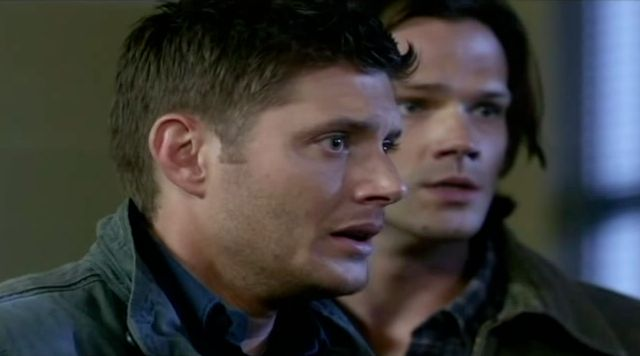 Supernatural S7x10 - Dean and Sam are helpless