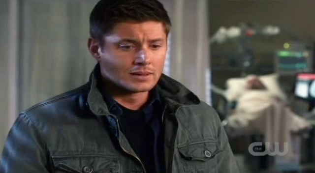 Supernatural S7x10 - Dean clearly a mess