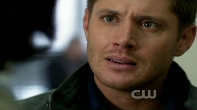 Supernatural S7x10 - Dean refusing to believe Bobby may die
