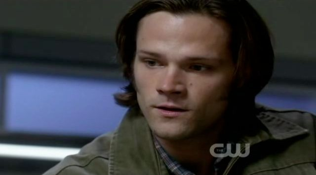 Supernatural S7x10 - Sam thanks Bobby for everything
