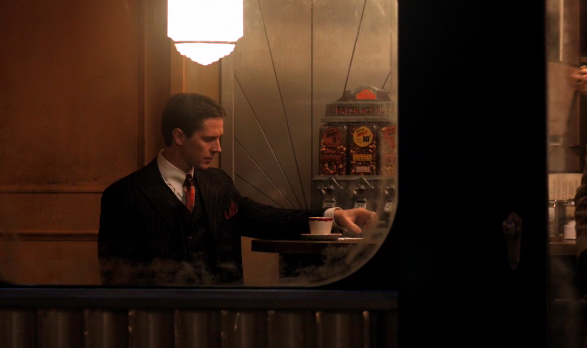 Supernatural S7x12 - Chronos in Diner