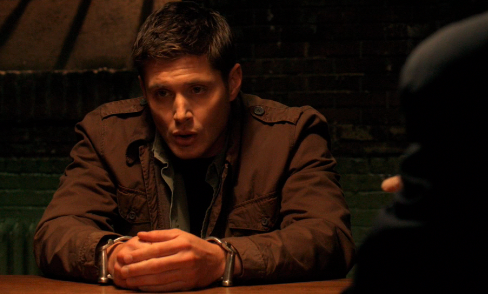 Supernatural S7x12 - Dean in Cuffs