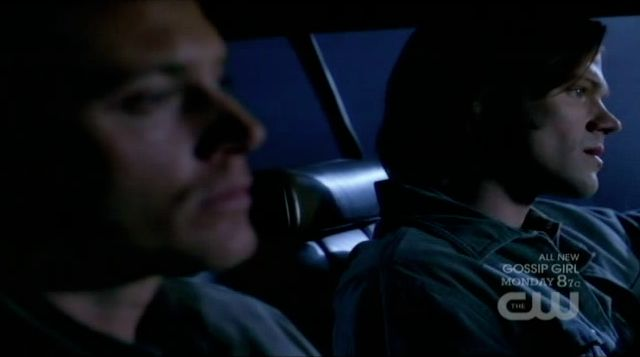 Supernatural S7x13 - The brothers have their end of episode discussion