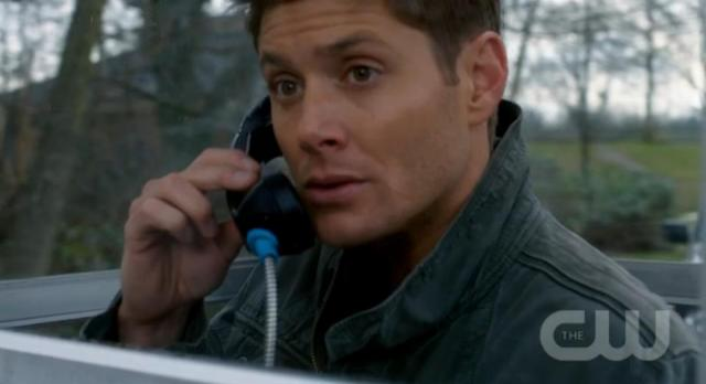 Supernatural S7x14 - On the phone earlier