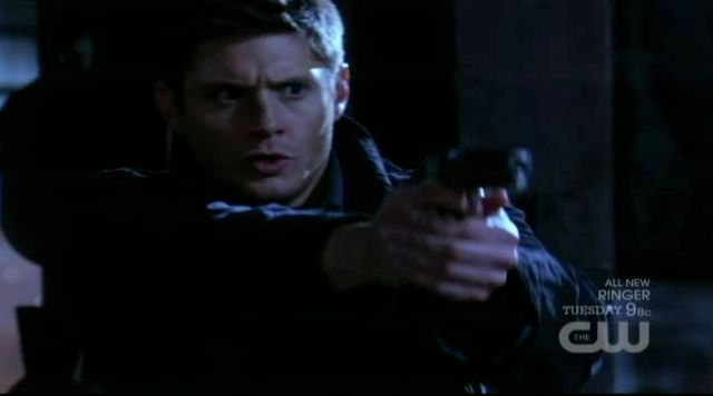Supernatural S7x15 - Dean shoots Jeffrey