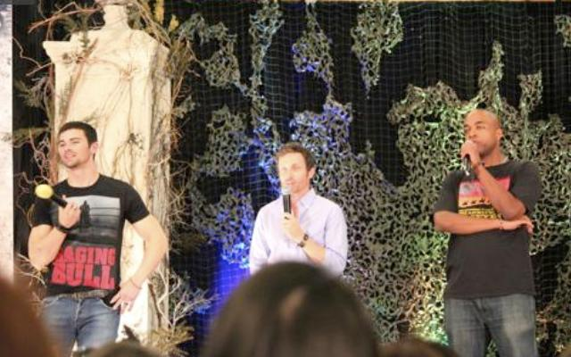 Supernatural BurCon 20120 - Matt Cohen, Rob Benedict, and Rick Worthy