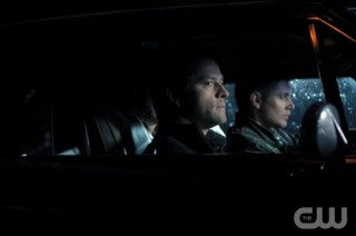 Supernatural S7x17 Castiel and Dean enroute to save Sam!