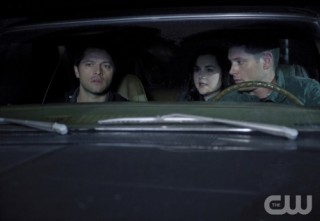Supernatural S7x17 - Driving to save Sam