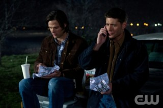 Supernatural S7x19 - Sam and Dean in Of Grave Importance