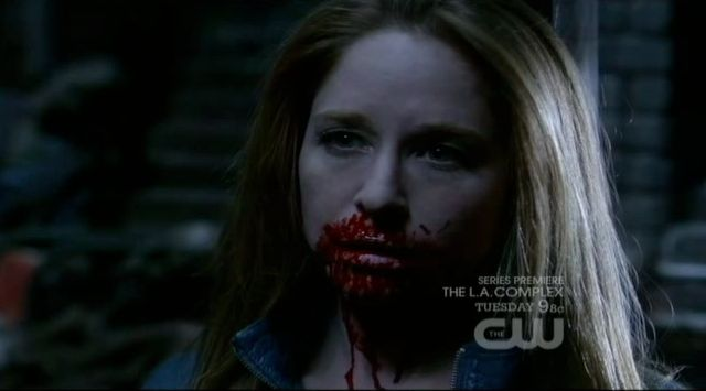 Supernatural S7x19 - Annie sees her own dead body