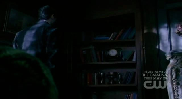 Supernatural S7x19 - Whitmans secret hiding place