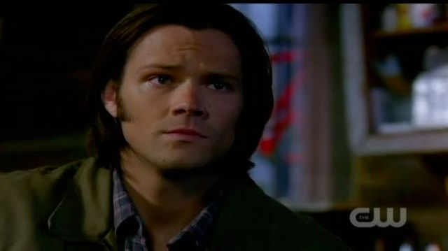 Supernatural S7x21 - Sam worried about Castiel