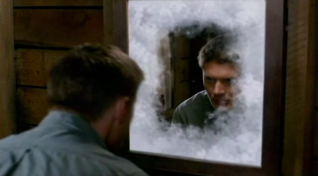 Supernatural S7x22 - The mirror ices over