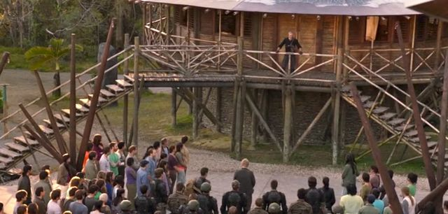 Terra Nova S1x05 - Taylor gives his speech