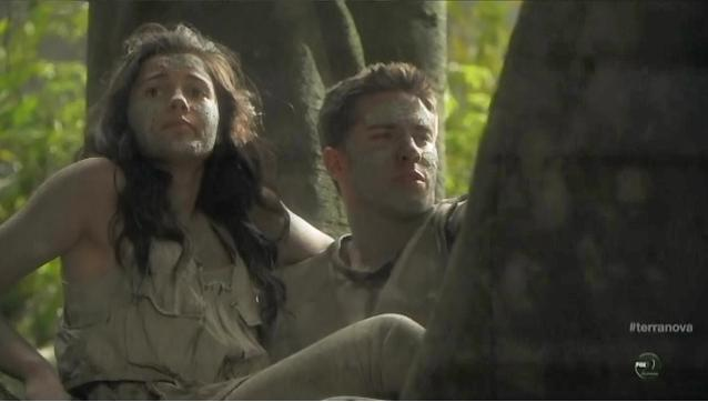 Terra Nova S1x06 Nightfall Mark and Maddy next morning