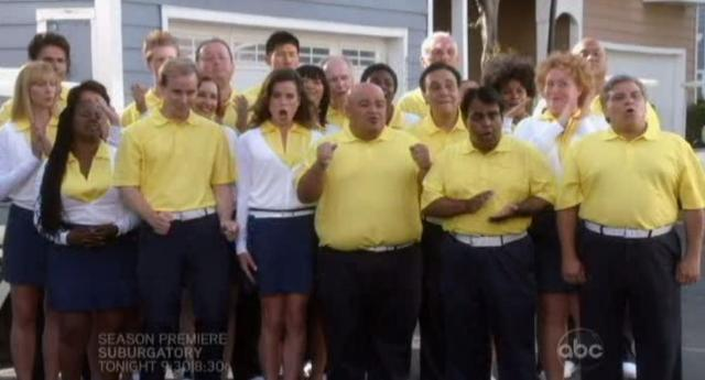 The Neighbors S1x04 Cheering commitee