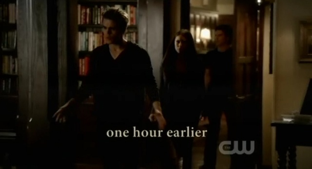 The Vampire Diaries S3x09 - The trio schemes a plan one hour earlier