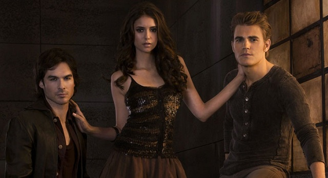 The Vampire Diaries Season 3 Promo Pic TV Guide CW