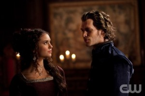 The Vampire Diaries S2x19 - Joseph Morgan and Nina Dobrev