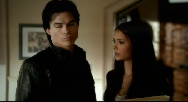 The Vampire Diaries S3x12 - Damon says we kissed and its weird