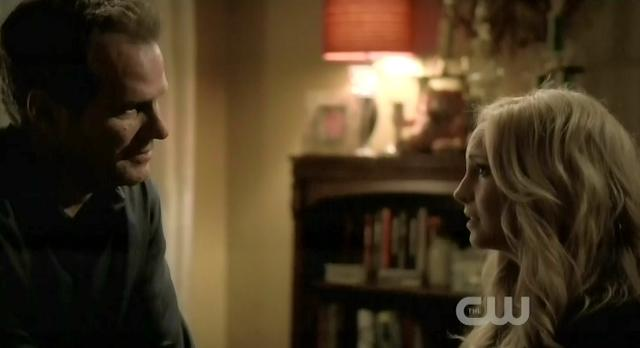 The Vampire Diaries S3x13 Carolyn asking her dad to live