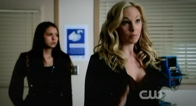 The Vampire Diaries S3x13 Carolyn talking to her father