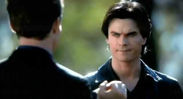 The Vampire Diaries S3x13 Damon and Elijah