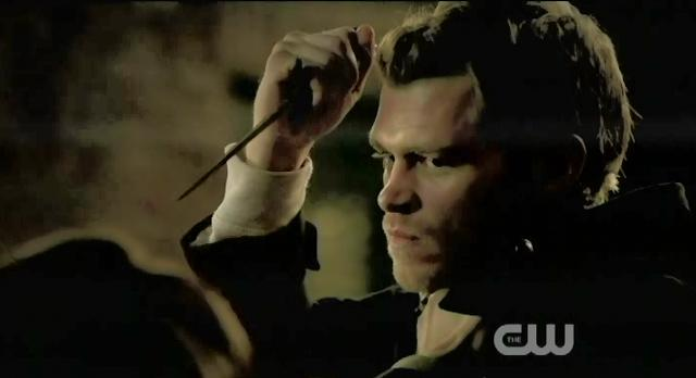 The Vampire Diaries S3x13 Klaus and Elijah fighting