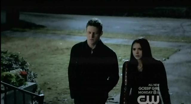 The Vampire Diaries S3x13 Matt walks Elena home