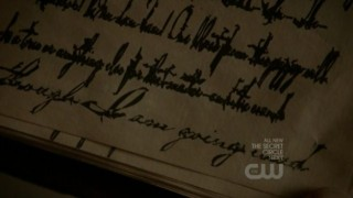 The Vampire Diaries 3x16 - Gilbert' family's journal
