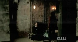The Vampire Diaries S3x19 Alaric and Elena in cellar