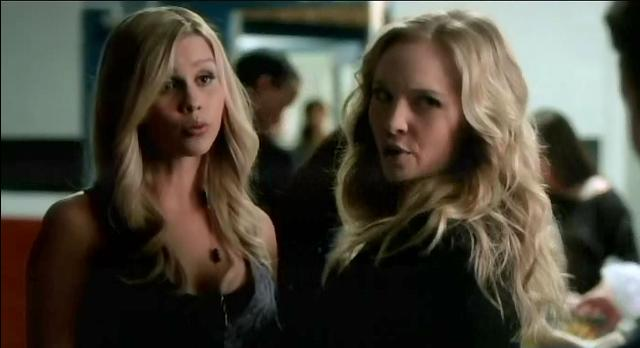 The Vampire Diaries S3x19 Caroline fighting with Rebekah