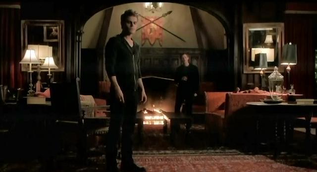 The Vampire Diaries S3x19 Klaus and Stefan