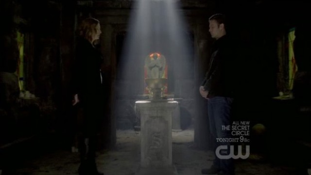 The Vampire Diaries 3x20 - Esther and evil Alaric