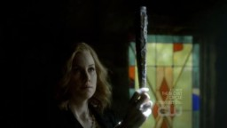The Vampire Diaries 3x20 The ultimate weapon for the ultimate hunter